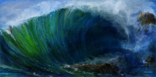 wave attempt 1 by andrekosslick