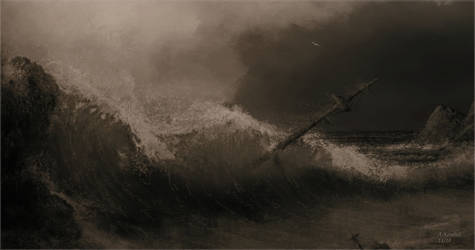 sea tragedy attempt by andrekosslick
