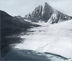 glacier attempt 9 by andrekosslick