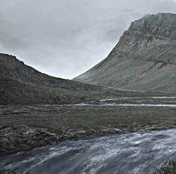 iceland river attempt 3 by andrekosslick