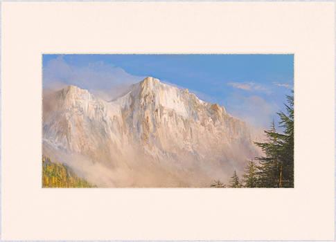 mountain  study 13g