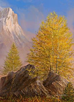 mountain  study 13i