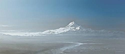 mountain range study 3