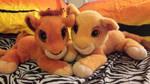 Lion King Collection-Floppy Purring Kovu and Kiara