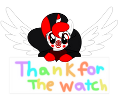 thanks for the watch by pepppermintfox