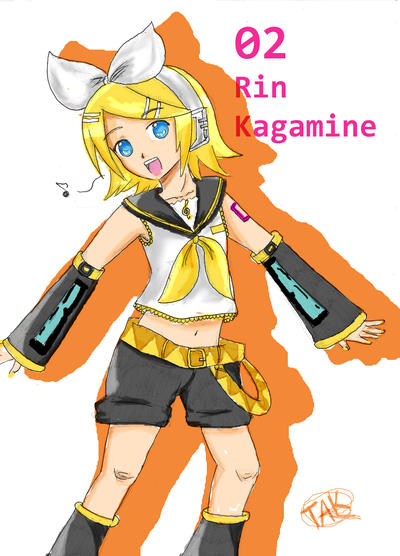 Rin Kagamine by TsukinameAlphard