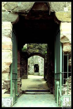 Doorway in doorway in doorway