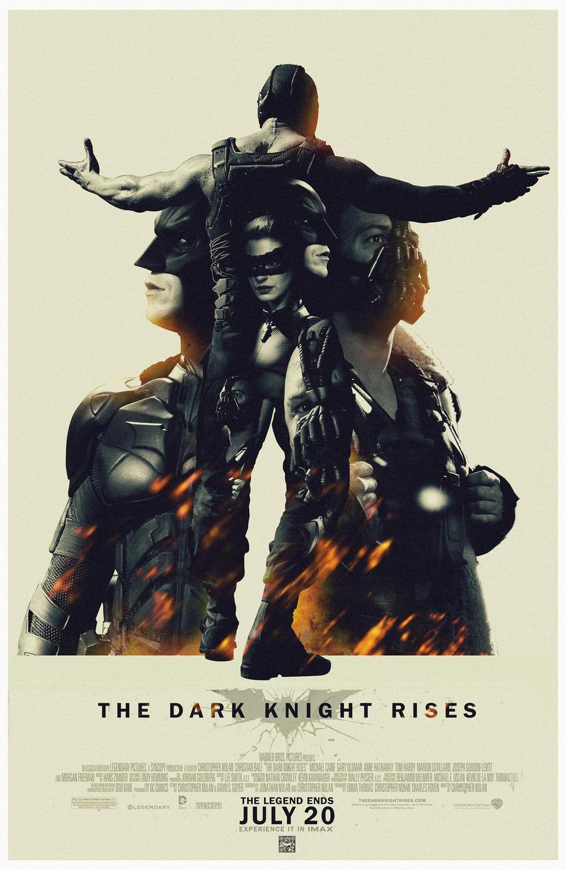 Batman The Dark Knight Rises fan poster