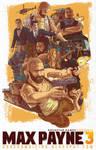 Max Payne 3 Poster Fan art