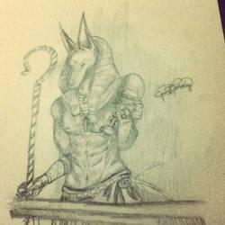 Annubis Sketch blah