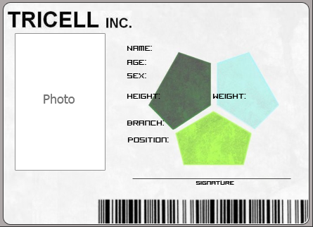 Tricell ID card by Moth258