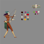 Vysha, Divine Huntress