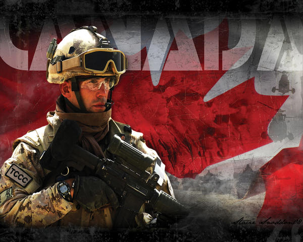 Canadian Forces by P3RF3KT