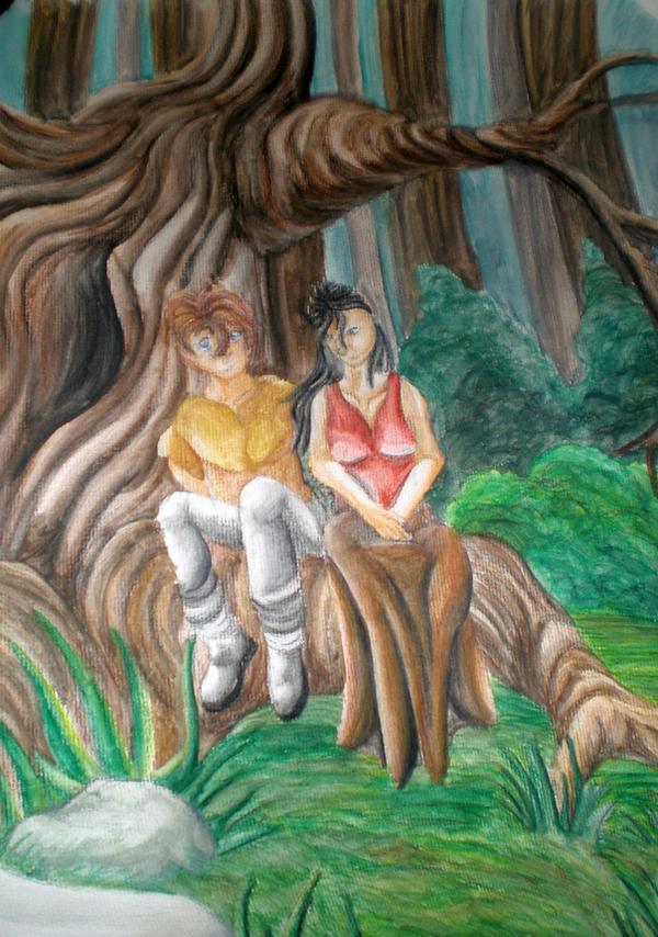 Eragon and Arya by Eragon And Arya Drawings