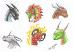 Dragon Heads V