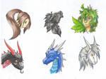 Dragon Heads VI