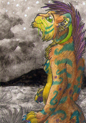 ACEO: loralillie_rowle by RaikaDeLaNoche