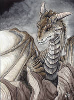 Earth Dragon by RaikaDeLaNoche