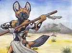 African Wild Warrior