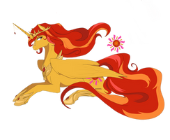 Princess Sunshimmer (Commission)