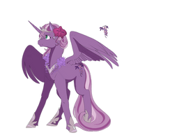 Princess Wysteria (Commission)