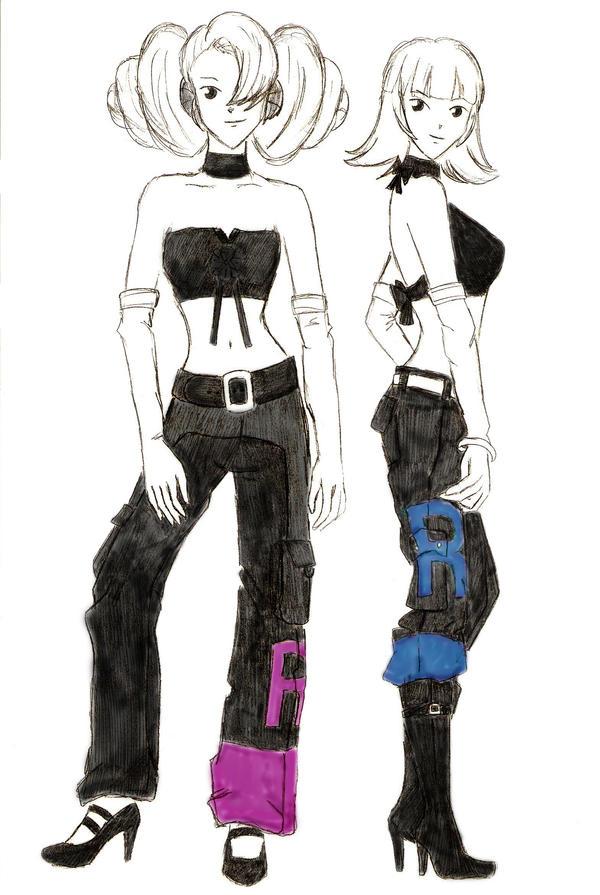 Pokemon Annie And Oakley