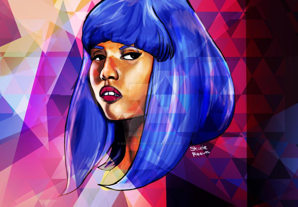 Nicki Minaj by KazzyMishima