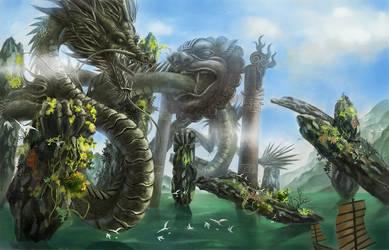 dragon by NamedDH