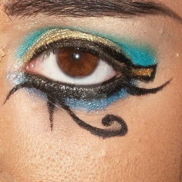 Egyptian Eye Makeup by J-SFX-Makeup on DeviantArt
