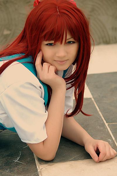 Evangelion Asuka cosplay by LSDPony - K�z�l Avatarlar