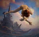 Flying in a dream by ShuY83