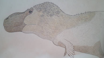 Saurian-inspired T. rex (updated) by Braindroppings1