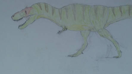 Old Tyrannosaurus drawing by Braindroppings1