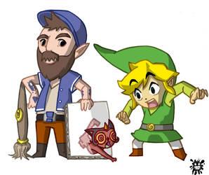 Teo Skaffa and Link