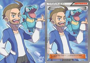 Pokemon Trainer Card Illustration