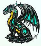 Omlokh The Nightmare Dragon