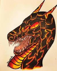 Dragoncember Day 17: Orrem! by BlueWyst