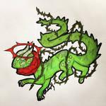 Thorn-Clad Beauty OC - Art Attack!