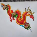 Skewer Dragon! by BlueWyst