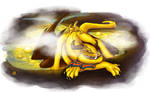 Dragon cave - Brimstone dragon