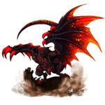 Dragon Cave - Hellfire Male