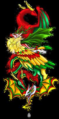 Dragon Cave - Christmas Holiday Dragons!