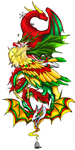 Dragon Cave - Christmas Holiday Dragons! by sharadhan
