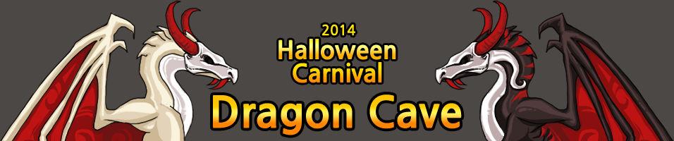 Dragon Cave - Halloween Title