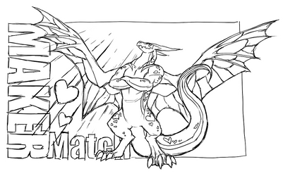Dragon Cave - Mutamore sketch