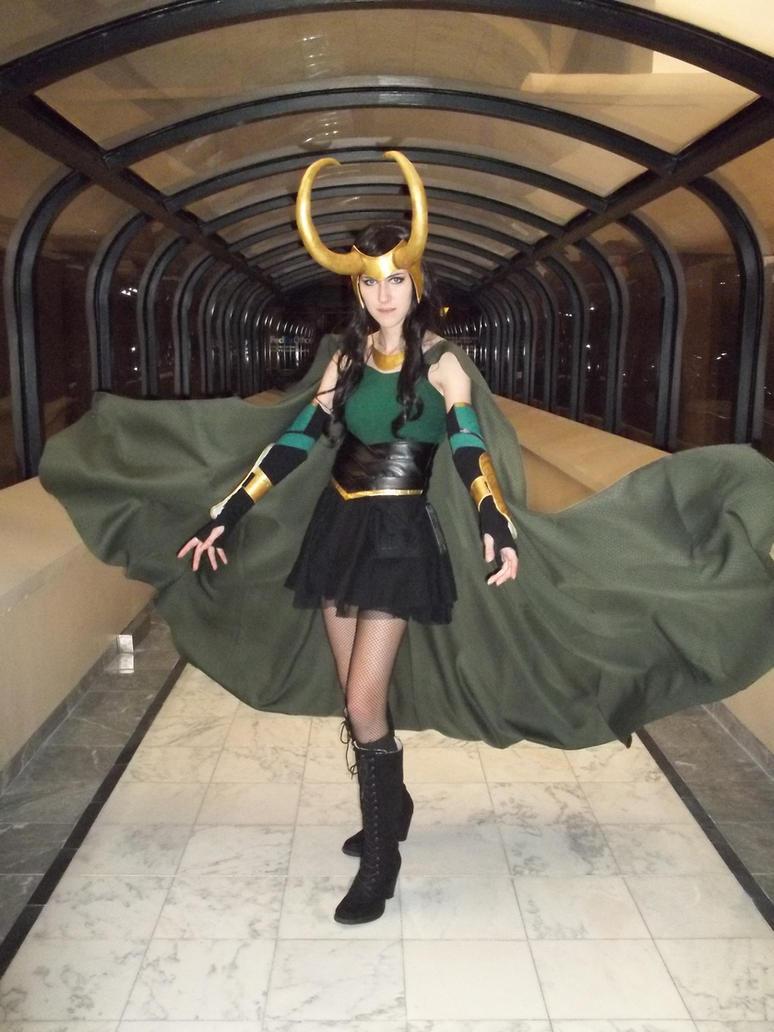 Lady Loki- Sorcery by Anatyla