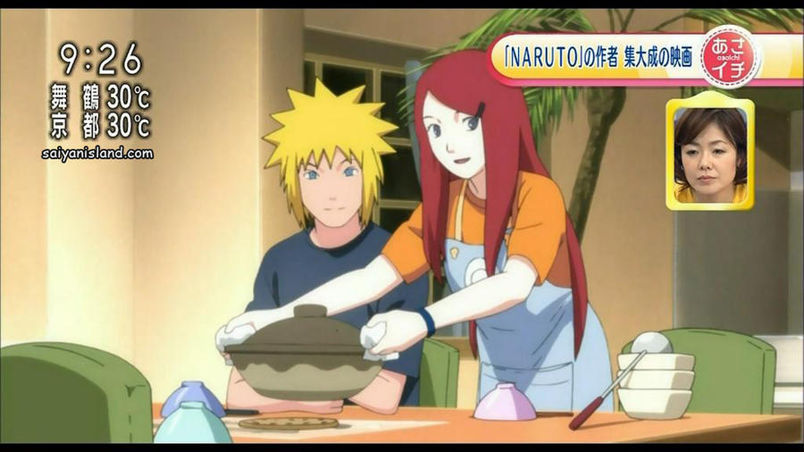 Kushina or Sakura, who has the better domestic look?