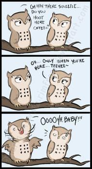 Comic - Owl Flirt