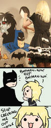 Cheeky Batman by Rimfrost