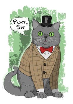 Purr, sir